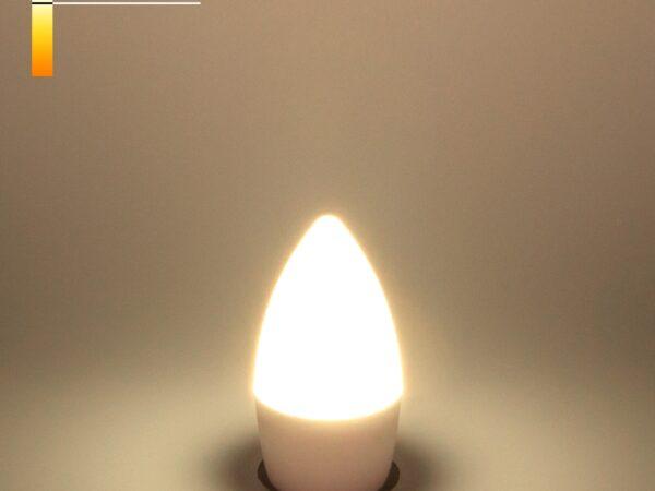 СD LED 6W 4200K E27 / Светодиодная лампа Свеча СD LED 6W 4200K E27