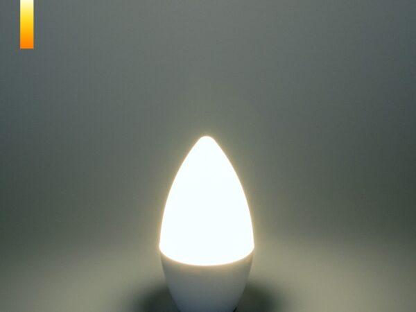СD LED 6W 6500K E14 / Светодиодная лампа Свеча СD LED 6W 6500K E14