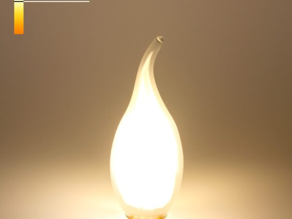 BL112 / Светодиодная лампа Свеча на ветру BL112 7W 4200K E14 (CW35 белый матовый)