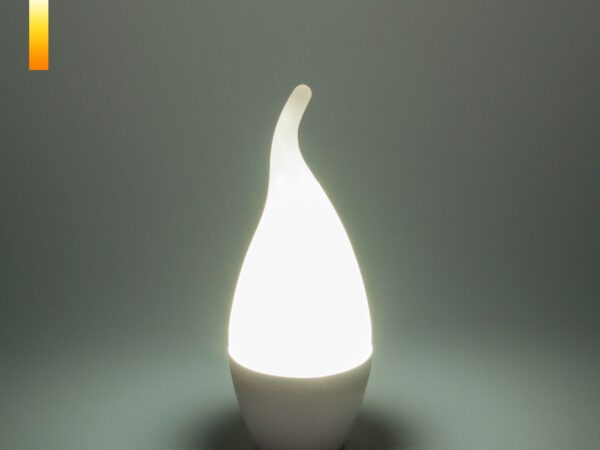СDW LED D 6W 6500K E14 / Светодиодная лампа Свеча на ветру СDW LED D 6W 6500K E14
