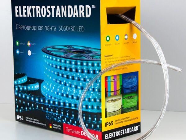 LSTR002 220V 7,2W IP65 / Лента светодиодная 220V 7,2W 30Led 5050 IP65 мульти, 50 м