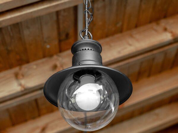GL 3002H / Светильник садово-парковый Talli H черный