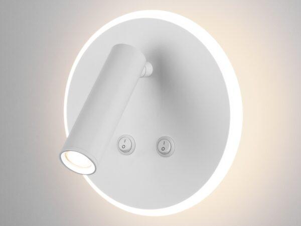 MRL LED 1014 / Светильник настенный светодиодный Tera белый