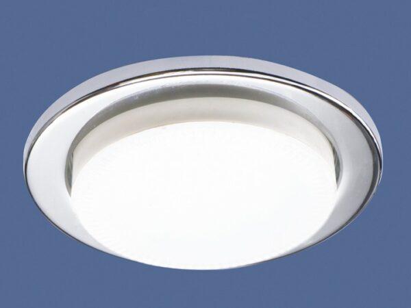 1035 GX53 CH / Светильник встраиваемый хром