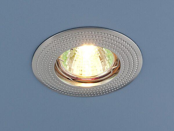 601 MR16 CH / Светильник встраиваемый хром