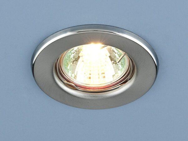 9210 MR16 SCH / Светильник встраиваемый хром сатинированный