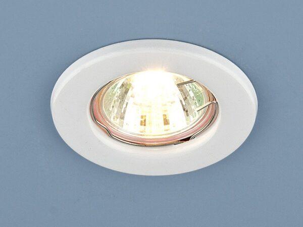 9210 MR16 WH / Светильник встраиваемый белый