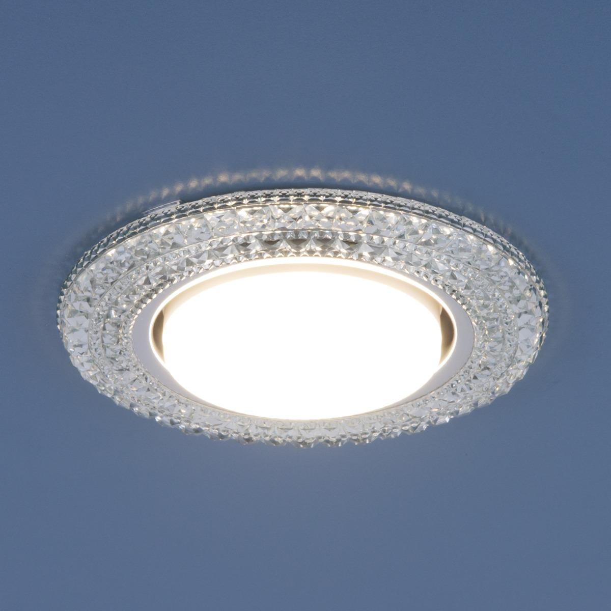 3030 GX53 / Светильник встраиваемый CL прозрачный