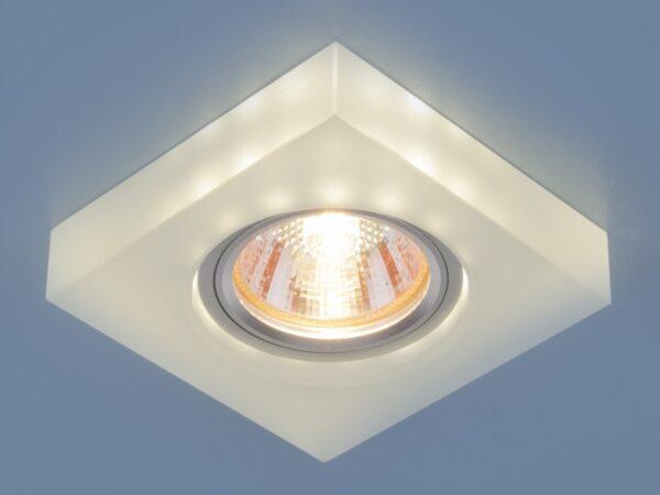6063 MR16 WH / Светильник встраиваемый белый