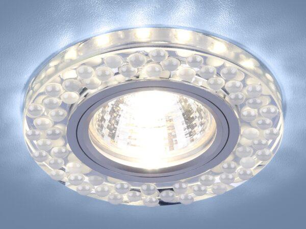 2194 MR16 / Светильник встраиваемый SL/WH зеркальный/белый