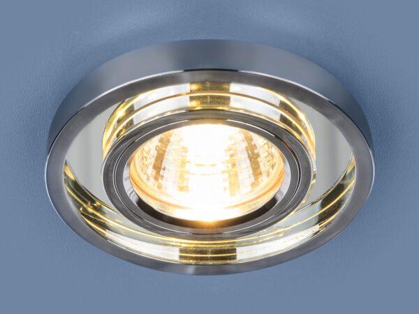 7021 MR16 / Светильник встраиваемый SL/CH зеркальный/хром
