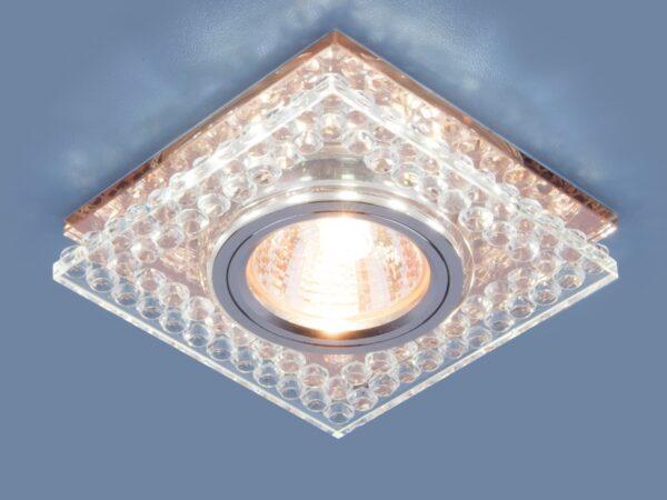 8391 MR16 / Светильник встраиваемый CL/GC прозрачный/тонированный