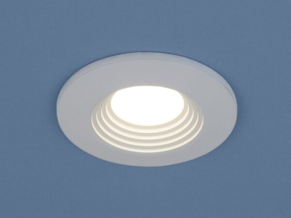9903 LED / Светильник встраиваемый 3W COB WH белый