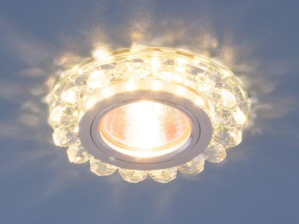 6036 MR16 СL / Светильник встраиваемый прозрачный