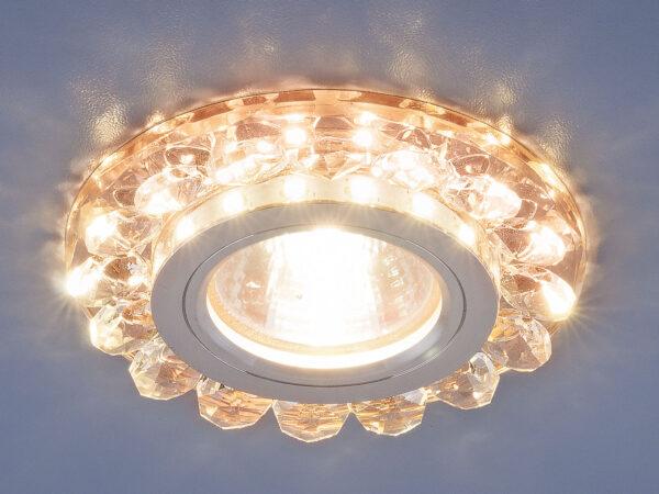 6036 MR16 GD / Светильник встраиваемый золото
