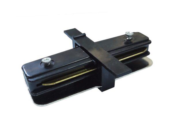 TRCM-1-I-BK / Соединитель электрический Коннектор прямой для однофазного встраиваемого шинопровода (черный)