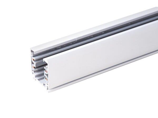 TRL-1-3-100-WH / Шинопровод электрический  для светильников Трехфазный шинопровод  белый (1м.) /