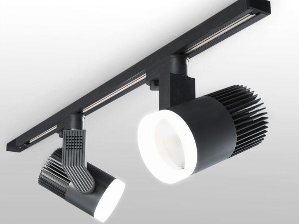 LTB37 / Светильник потолочный светодиодный Accord Черный 30W 4200K