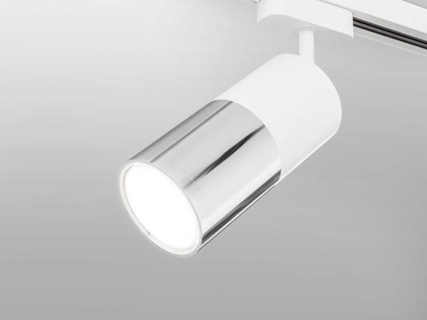 LTB27 / Светильник потолочный светодиодный Avantag Белый матовый/хром 6W 4200K