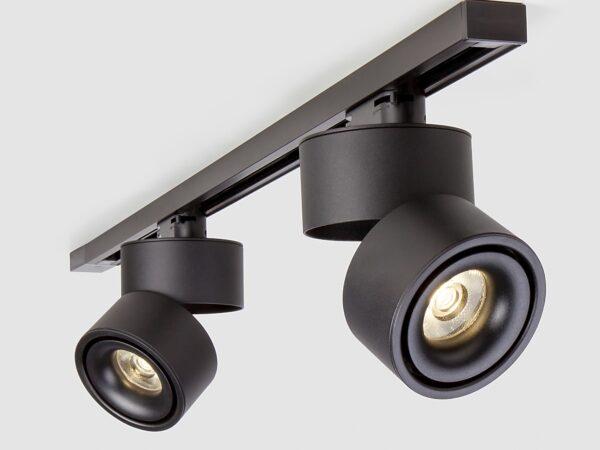 LTB21 / Светильник потолочный светодиодный Klips Черный 15W 4200K