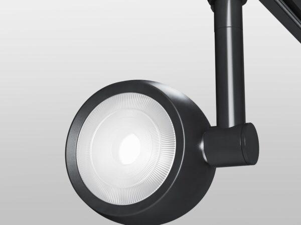 LTB48 / Светильник потолочный светодиодный Oriol Черный 12W 4200K