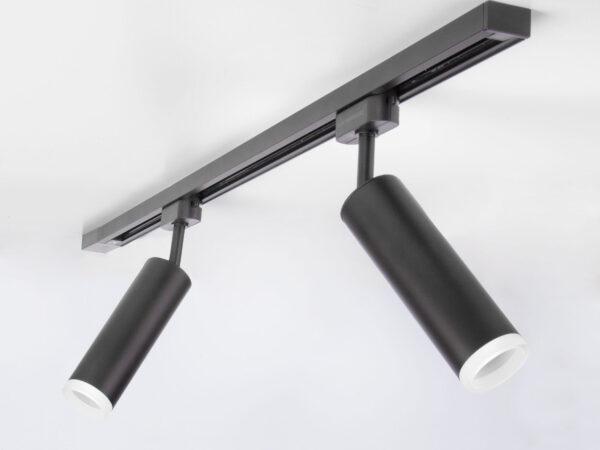 LTB28 / Светильник потолочный светодиодный Oskar Черный 10W 4200K