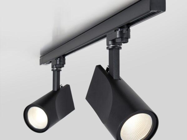 LTB15 / Светильник потолочный светодиодный Vista Черный 32W 3300K