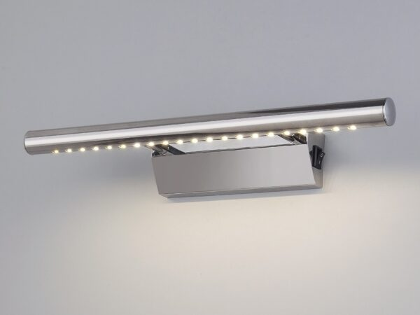 MRL LED 1001/ Светильник настенный светодиодный Trinity Neo SW LED хром с выключателем