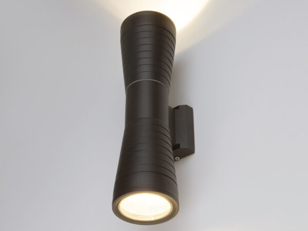 1502 TECHNO LED/ Светильник садово-парковый со светодиодами 1502 TECHNO LED TUBE DOBLE черный