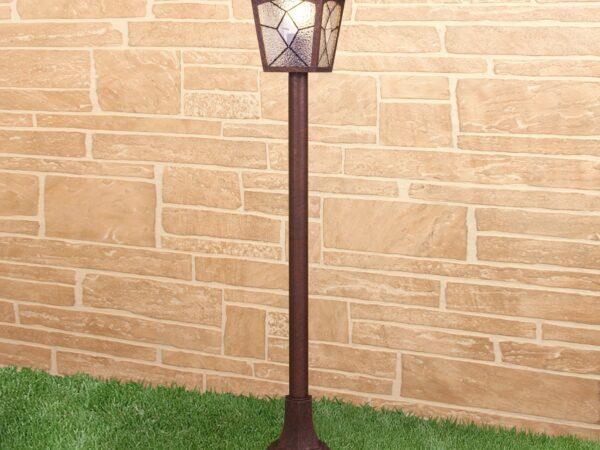 GL 1012F / Светильник садово-парковый Lyra F брауни (GL 1012F)