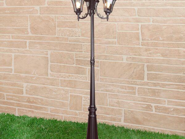 Capella F/3 / Светильник садово-парковый черный
