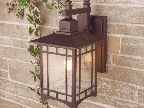 GL 1019D / Светильник садово-парковый Vela D кофейное золото (GL 1019D)