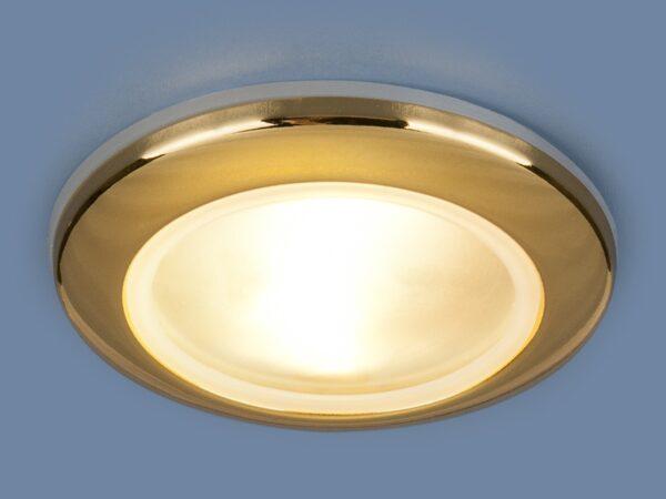 1080 MR16 GD / Светильник встраиваемый золото