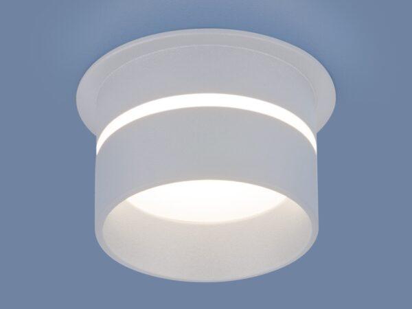6075 MR16 / Светильник встраиваемый WH белый
