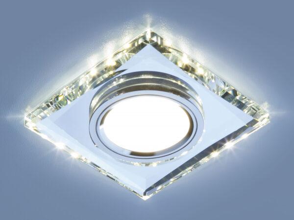 2230 MR16 / Светильник встраиваемый SL зеркальный/серебро (8470 MR16 SL)