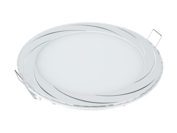 DLR004 12W 4200K / Светильник встраиваемый WH белый