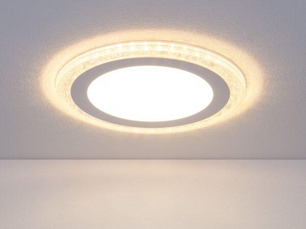 DLR024 10W 4200K / Светильник встраиваемый DLR024 7+3W 4200K