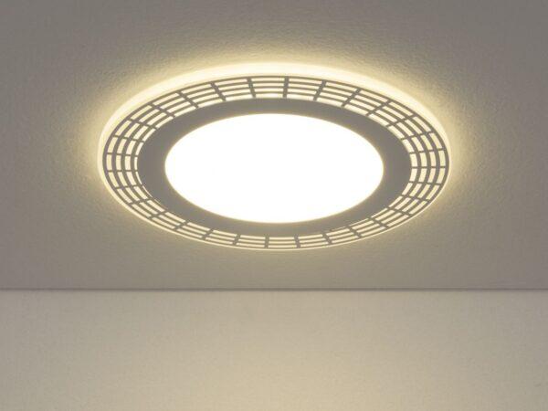 DSS001 18W 4200K / Светильник встраиваемый DSS001 12+6W 4200K