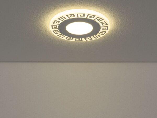 DSS002 6W 4200K / Светильник встраиваемый DSS002 3+3W 4200K