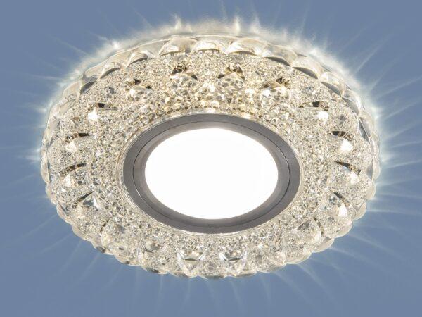 2236 MR16 / Светильник встраиваемый CL прозрачный