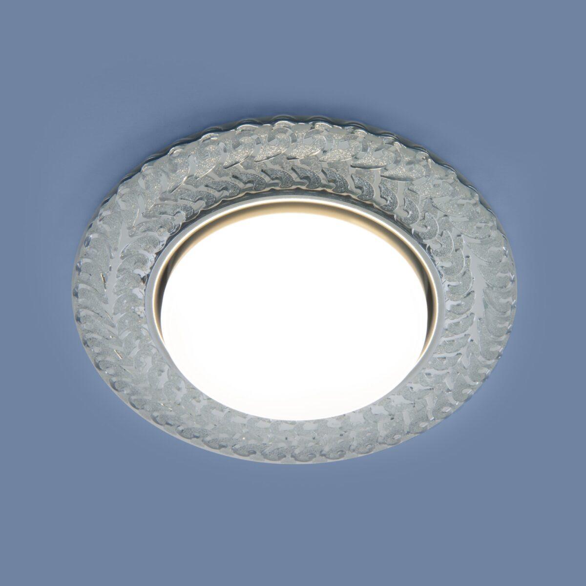 3027 GX53 / Светильник встраиваемый CL прозрачный