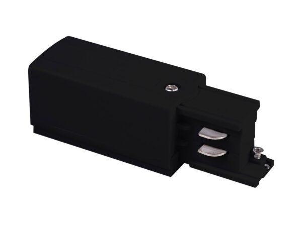 TRP-1-3-R-BK / Соединитель электрический Ввод питания правый для трехфазного шинопровода (черный) /