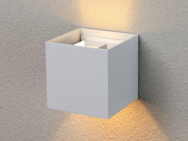 1548 TECHNO LED / Светильник садово-парковый со светодиодами WINNER белый