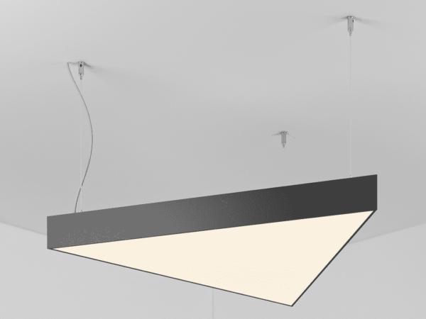 Светильник POLYGON TRIANGLE   h100  (Сторона L-550) LED 31W