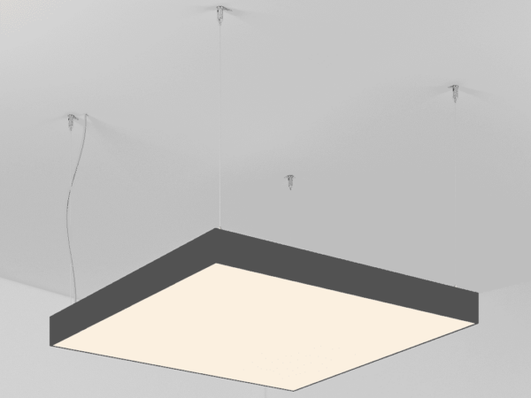 Светильник POLYGON SQUARE   h100 (Сторона 620)х4 LED 86W