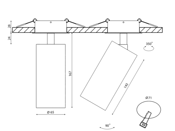 Крепление VILLY M4