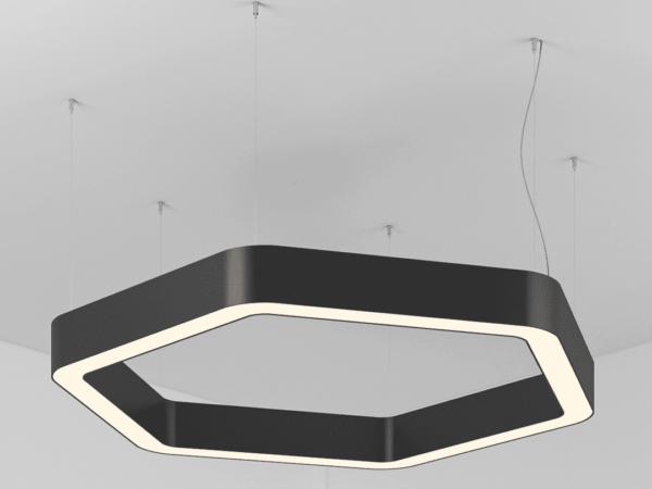 Светильник  RADIUS D600 LED 52 W