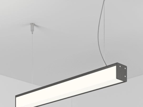 Светильник SHELL подвесной L1200 H40 B40 LED 35W