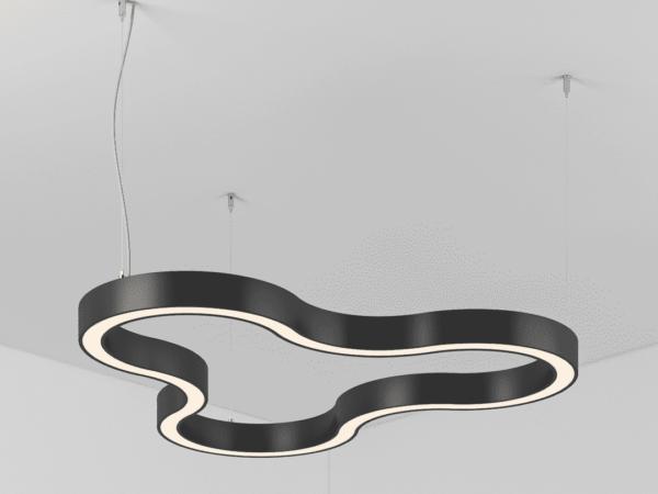 Светильник SPINNER  подвесной d580 H45 B45   LED 24Вт