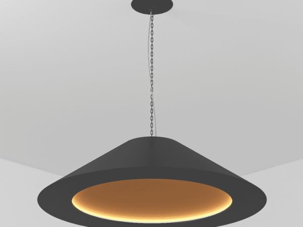 Светильник NOZZLE подвесной D500 Н280 LED 22W